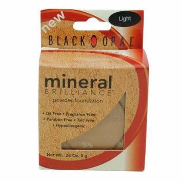 (Pack 2) Black Opal Powder Foundation Mineral Brillance Light