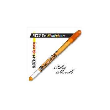 G T Luscombe Co 08115X Highlighter Accu Gel Bible Hi Glider Orange