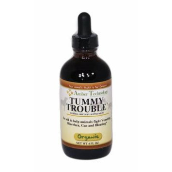 Tummy Trouble 4oz - An herbal supplement to help normalize your pets digestive system