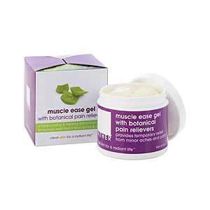LATHER Muscle Ease Gel with Botanical Pain Relievers