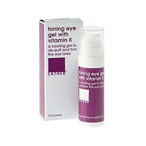 LATHER Toning Eye Gel with Vitamin K, .5 oz