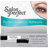 Salon Perfect Perfect Brush-On Clear Adhesive, 0.18 fl oz