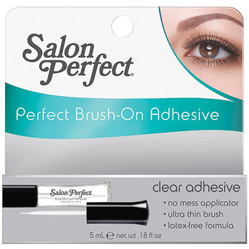 Salon Perfect Perfect Brush-On Clear Adhesive, 0.18 fl oz