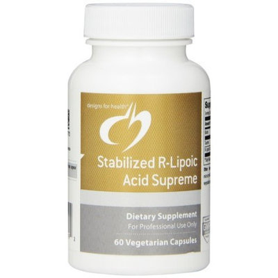 Designs for Health - Stabilized R-Lipoic Acid Supreme 60 capsules
