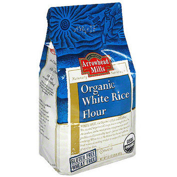 Arrowhead Mills Organic White Rice Flour, 32 oz (Pack of 6)