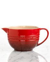 Le Creuset 2-qt. Stoneware Batter Bowl, Cherry Red