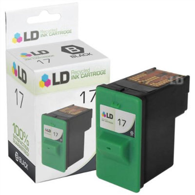 LD Lexmark Remanufactured 10N0217 (#17) Black Ink Cartridge
