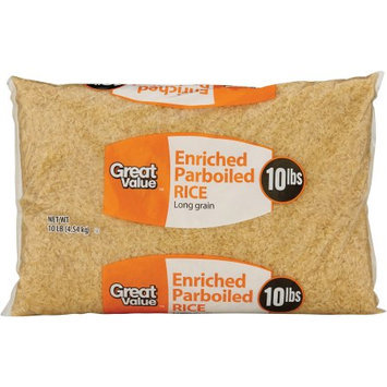 Wal-mart Stores, Inc. Great Value Parboiled Rice, 160 oz