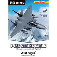 Just Flight 001f117ax Pc Game Simulation F-15e Strike Eagle
