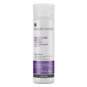 Paula's Choice MOISTURE BOOST One Step Face Cleanser, 8 oz