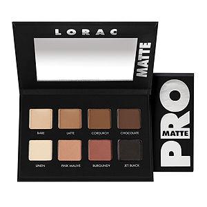 LORAC PRO Matte Eye Shadow Palette (Chocolate/Red/Latte)