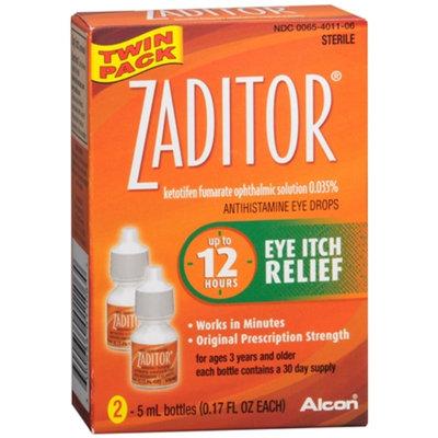 Zaditor Antihistamine Eye Drops Twin Pack (2 bottles - 0.17 fl oz each)
