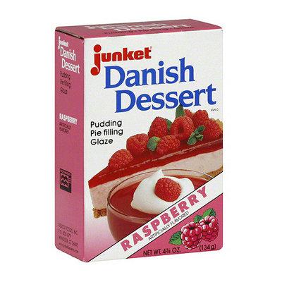 Junket Danish Raspberry Dessert