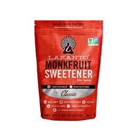 Lakanto Monk Fruit Sweetener All Natural Sugar Substitute, Classic White, 235 Grams (8.29 Ounces)