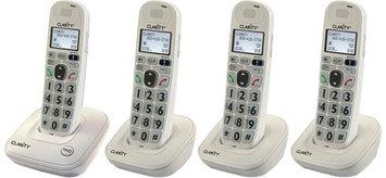 Clarity D702 + (3) D702HS D702 Amplified Low Vision Cordless Phone