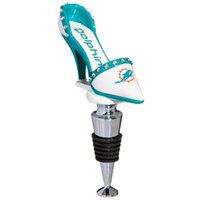 NFL Miami Dolphins High-Heel Shoe Bottle Stopper