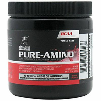Betancourt Nutrition Pure-Amino Diet Supplement, Fruit Punch, 5 Count