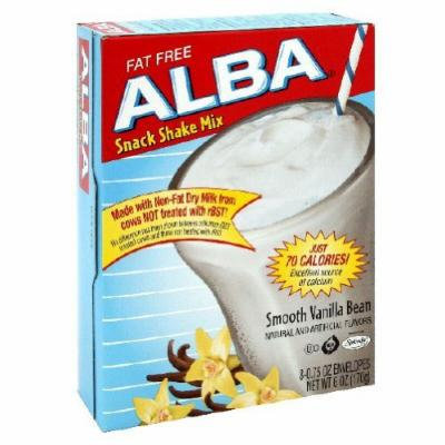 Alba Shack Shake Mix - Smooth Vanilla Bean Flavor