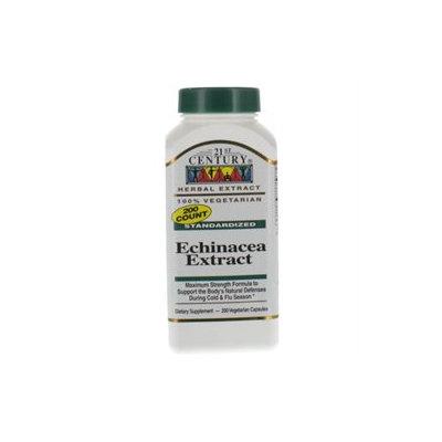 21st Century Healthcare Echinacea Extract 200 Vegetarian Capsules, 21st Century Health Care