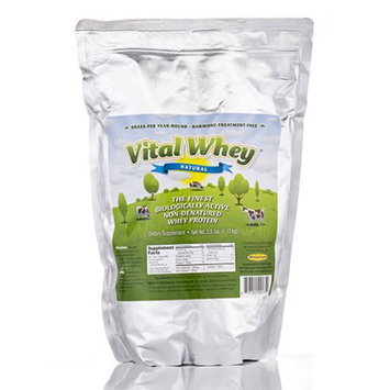Well Wisdom Vital Whey Protein Natural 2.5lb Bag