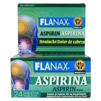 Flanax Aspirin Headache 24 Tablets - Aspirina