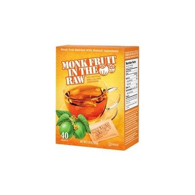 Sugar In The Raw Monk Fruit in The Raw 40-Count (Pack of 8)