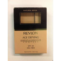 Revlon Age Defying Makeup and Concealer Compact Natural Beige SPF 20 Oil Free
