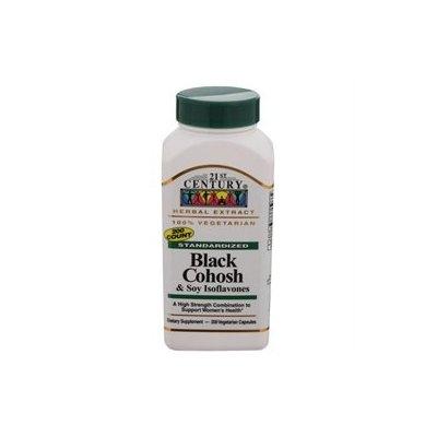 21st Century Healthcare Black Cohosh & Soy Isoflavones 200 Vegetarian Capsules, 21st Century Health Care