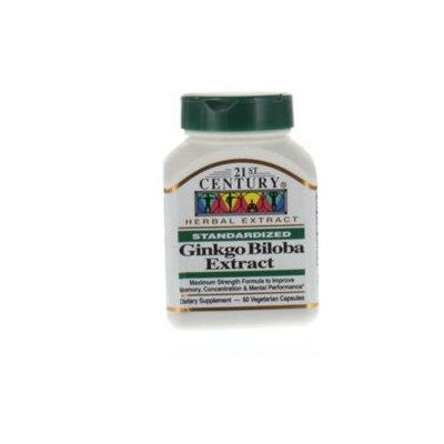 21st Century Healthcare Ginkgo Biloba Extract 60 Vegetarian Capsules, 21st Century Health Care