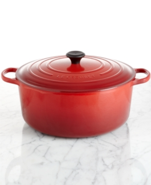 Le Creuset Signature Enameled Cast Iron French Oven, 13.25 Qt. Round