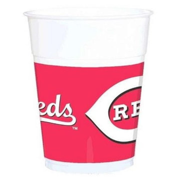 Amscan 429353 Cincinnati Reds Plastic Cups - Pack of 150