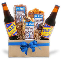 AlderCreekGiftBaskets.com Nut's For Dad Gift Basket