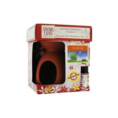 Aromaland - Simplicity Natural Aromatherapy Candle Diffuser with Purifying Blend