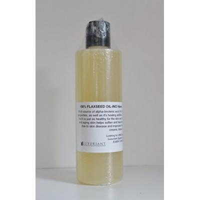 Flaxseed Oil-100% Nautural - 8 oz