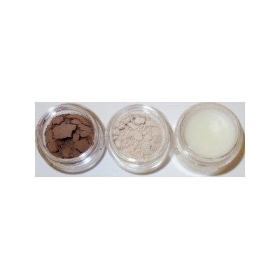 Glamour My Eyes All Natural Mineral Brow Powder Set - Auburn