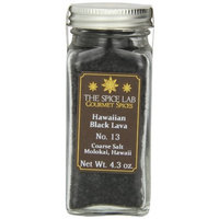 The Spice Lab Hawaiian Black Lava Sea Salt, Coarse Grain, Molokai