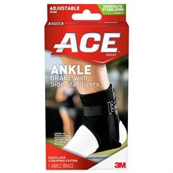 Ankle Brace, with Side Stabilizers, Adjustable, Moderate Stabilizing Support, 1 brace - 3M COMPANY