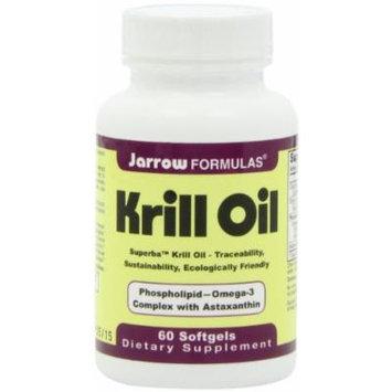 Jarrow Formulas Krill Oil 60 Count Pack of 2