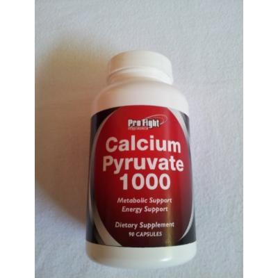 Pro Fight Calcium Pyruvate 1000mg Per Capsule 90 Capsules Made in the USA