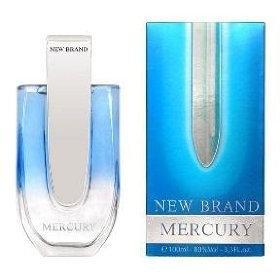 Mercury by New Brand for Men - 3.4 oz EDT Spray