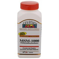 21st Century Healthcare 21st Century MSM 1000 mg Maximum Strength, Tablets