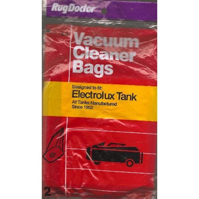 Rug Doctor Vacuum Cleaner Bags, Designed to fit: Electrolux Tank