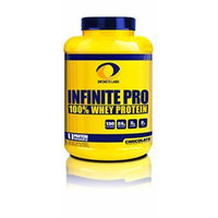 Infinite Labs Pro 100 Percent Whey Protein Powder, Chocolate, Supports Optimal Growth And Recover - 46 Servings (1816 Grams) 4LBS