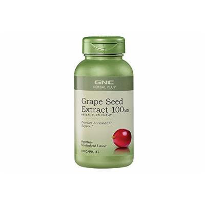 GNC Grape Seed Extract 100mg / 300mg (Single or Multi-packs) (Grape Seed 100 mg 1 Pack (100 capsules))