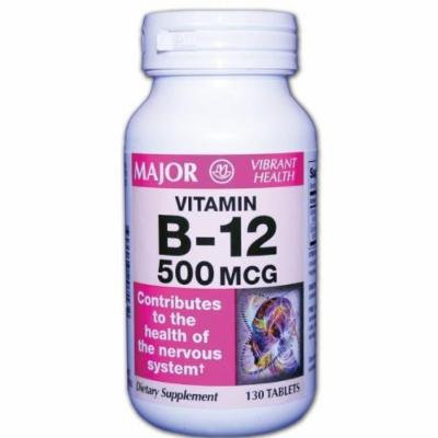 MAJOR PHARMACEUTICALS VITAMIN B-12 1000MCG 130 TABLET