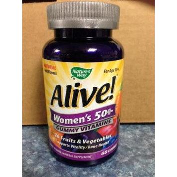 Nature`s Way Alive! Women`s 50+ Gummy Vitamins 60 ct (pack of 3)