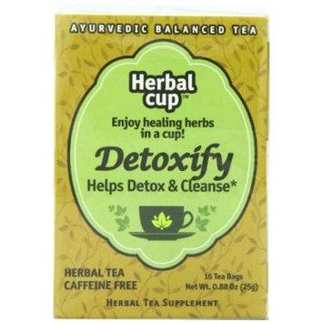 Herbal Cup Herbal Tea, Detoxify, 16 Tea Bags