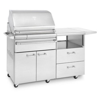 Lynx Professional Sonoma Smoker with Mobile Kitchen Cart