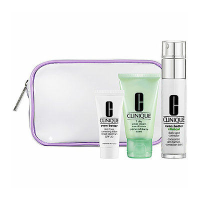 Clinique Uneven Skin Tone Solutions Skincare Set