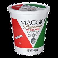 Maggio Premium Whole Milk Ricotta Cheese